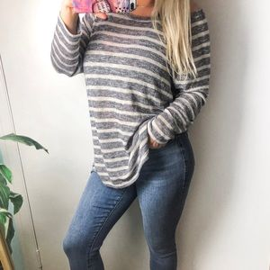 Aerie   Striped Cozy Sweater